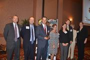 Employees with Nationwide at the 2012 Best Places to Work Awards.