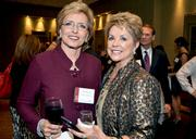 Docusource's Adele Fine and Quality Staffing's Phyllis Eller-Moffett.