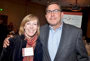 Katherine Goldfaden and Doug Besser with LM Restaurants.