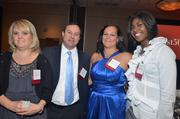 Lori Simnor, Matt Farriba, Cheryl Willis and Brandy Jones with Nstar Global Services.