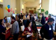 People arrived early to peruse TBJ's Healthiest Employers expo.