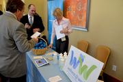 The health expo had more than a dozen vendors, including Wellness at Work, which is part of UNC Health Care.
