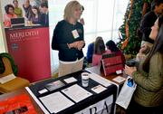 Allison Anthony with Meredith College at the 2012 Healthiest Employers Awards.