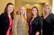 Healthiest Employers winner Red Hat had Heather Kinnas, Lori Osborne, Elaine Byrd and Amy Robertson on hand to accept the award.