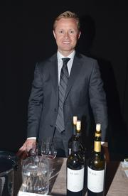 Valeri Bure with Bure Family Wines was pouring a red and white wine. Bure played in the NHL for a decade and is married to actress Candace Cameron.