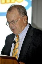 Moderator Robert Gruber.