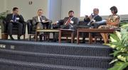 Many topics were discussed by the panelists at the Energy Inc. event held at Cree's corporate headquarters.