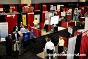 More than 50 exhibitors took part in the inaugural Triangle Business Growth Expo, hosted by Triangle Business Journal.
