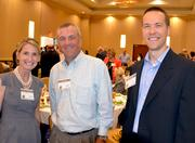 From left, Kimberly Wheeler, Tim Wach and Martin Morgan of CAI Inc.
