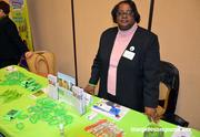 Sandra Coley with Carolina Donor Services was just one of many exhibitors at the Healthiest Employers of the Triangle awards.