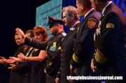 In a very emotional tribute, a handful of NYFD 9/11 first responders were paid respect during the Jimmy V Gala.