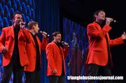 One of the live performances featured a 'Jersey Boys' tribute band.