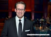 Carolina Hurricanes TV play-by-play announcer John Forslund was the emcee for this year's Jimmy V Gala.