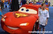 """This character from the Pixar animated smash """"Cars"""" makes a pit stop to visit with fans."""