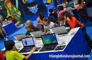 Kids get to build their virtual Lego character in Lego Universe, an online game.
