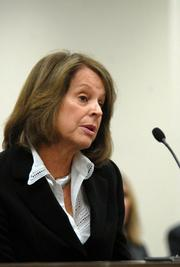 Ann Gray is the lead independent director on Duke's board. Boards often designate a lead director to create an extra measure of accountability to shareholders in situations where the CEO is also the board chairman. In that capacity, Gray led Duke's board in discussing concerns about Johnson's ability to lead the combined company, according to testimony that she and Jim Rogers gave to the utilities commission earlier this month. Gray served as a senior finance executive in several capacities at the ABC television network from 1979 to 1998. She has been a Duke director since 1994.
