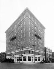 Back before Progress Energy, this building held offices for Carolina Power and Light.