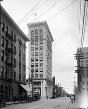This shot is of Citizens National Bank Building on Martin Street, around 1914.