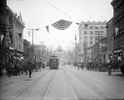 A view of Fayetteville Street, circa 1910.