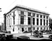 A look at the Revenue Building on the corner of Morgan and Salisbury, from 1930.