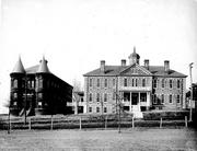 Shaw University is shown in this old photo.