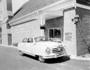 Customers enjoy the convenience of the drive through at the old Hayes Barton Branch of Wachovia.