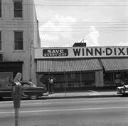 An old Winn Dixie store is shown in this photo.