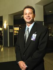 Rex Healthcare is one of the Best Places to Work in 2011. David Strong is pictured in this file photo.