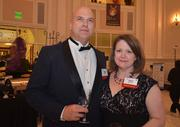 Sponsors Nate and Traci Sheaffer at the 2012 SPCA Fur Ball.