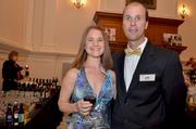 Meredith Hickory and Jeff Bertram at Fur Ball.