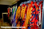 The outfits for Cirque du Soleil's Dralion are all custom made for each individual actor.