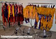 All the actors' clothes are washed and air dried nightly.