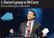 Why I liked this blog:As journalists, we are often tasked with understanding the issues, and then reporting on it with an authoritative voice after talking to all parties involved. These web posts had all of that. Gov. McCrory had just talked about how North Carolina's Medicaid system needs an overhaul. But he was not specific enough. So, when we asked the most influential physician's group in the state about it, we were not expecting the reaction they had. To us, it looked like no one really asked them for input on the potential overhaul before the well-publicized announcement. A few other media outlets picked up on our post, and that may also have prompted a few lawmakers to look into the issue more closely. We will continue to pursue this story, just like a good media organization should.Click here for this story, and this follow-up blog.