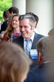 Downtown Durham Inc.'s Matthew Coppedge was one of this year's 40 Under 40 winners.