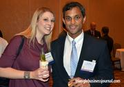 Elizabeth Riley and Steve Rao are Fast 50 sponsors with Alphanumeric Systems.
