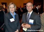 MedPro Rx's Anne Lowish chats with David Liberatore with BBH Design PA.