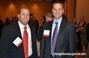Greg Rotz and Jason Lemons represented sponsor PricewaterhouseCoopers.