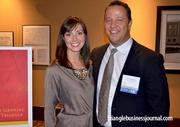 Fast 50 winner BJ Fungaroli with Environmental Holdings Group attended the event along with his wife, Caroline.