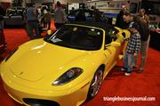 The NC International Auto Expo also featured some exotic vehicles like this Ferrari.