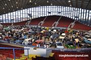 Here's another look at all the classic cars that were on display inside the Dorton Arena at the North Carolina State Fairgrounds.