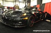 If flashy is what you're seeking, then you might be interested in the 2012 Corvette ZR1 by Chevrolet. This 'Vette has a 6.2L supercharged engine delivering 638HP and will set you back close to $130K.