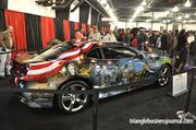Here's another look at the American Pride Camaro at the NC International Auto Expo.