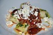 "Braised Sirloin with Skirt Steak Ragu, Potato Dumplings and ""House Made"" Ricotta - Chef Payne"