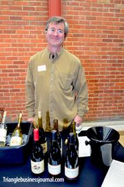 Winemaker Ken Foster of Mahoney Vineyards stands behind his Pinot Noir. This vineyard, based in Napa, makes a great tasting 2008 Pinor Noir (retail value $32). Foster, who was also at the wine dinner at Sitti the night before, mentioned the quail and Cab Franc was a great combo.