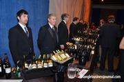 Dozens of wine distributors as well as winemakers poured offerings of their signature and most popular wines during the event.