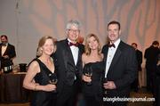Normacorc CEO Lars von Kantzow (second left) and VP of Global Sales Jay Cummins (far right) enjoy the evening with their wives Elisabeth and Lynn.