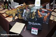 There was plenty of wine in both the silent and live auctions, but the auction also included some non-alcohol donations, such as this package courtesy of Epic Games. This package includes a replica Lancer from the Epic game Gears of War, along with several autographed games, a custom Xbox 360 console and a tour of Epic Games with Epic designer Cliff Bleszinski and co-founder Mark Rein. That starting bid was $680.