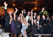 Everyone seemed to have an amazing time at the 2011 Triangle Wine Experience – including this group of friends.