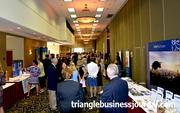 The exhibitors were all lined up during TBJ's Women in Business Awards.
