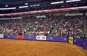The crowd at the PNC Arena enjoyed the action during the World's Toughest Rodeo.